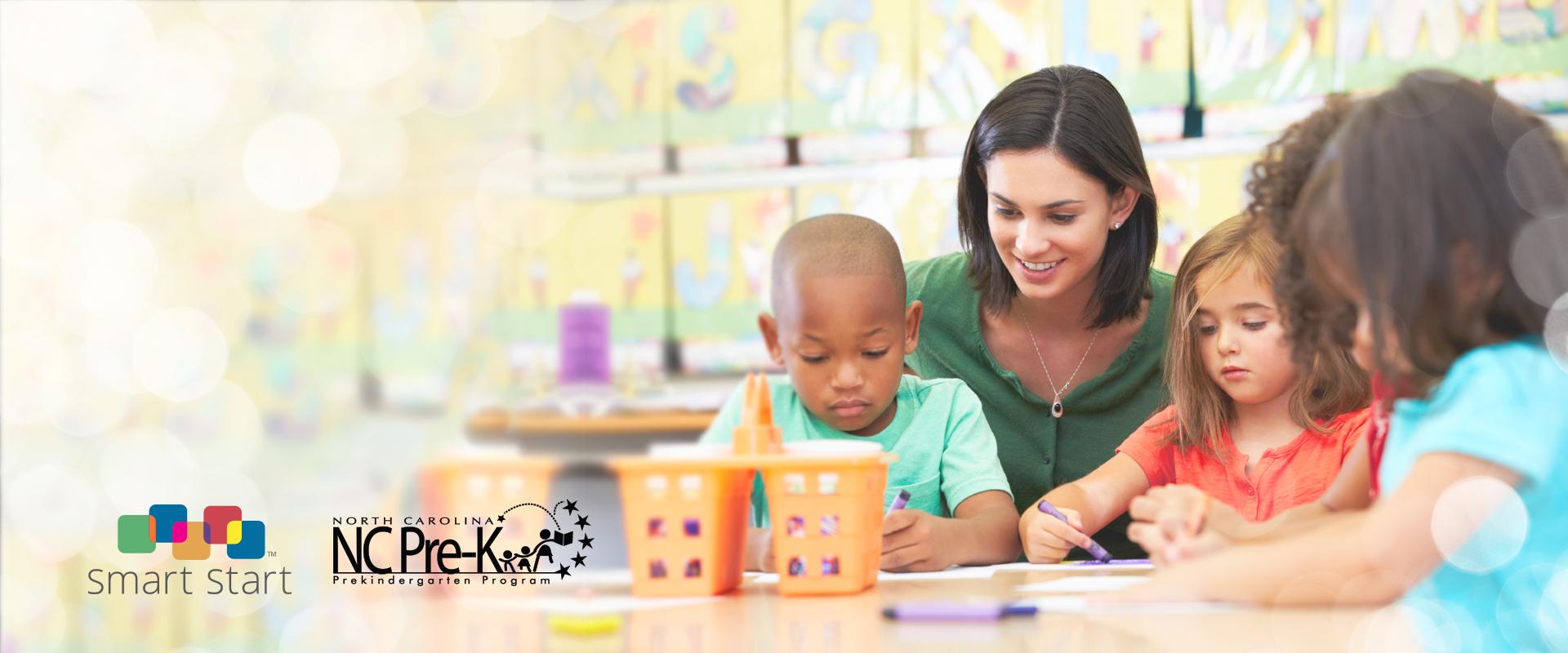 Now Enrolling in NC Pre-Kindergarten