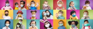 Hero banner image of kids in masks